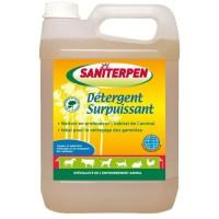 SANITERPEN Détergent Surpuissant - Nettoyant manuel ou haute pression - Pour l'habitat - 5 L
