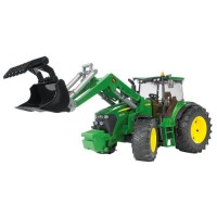 BRUDER - 3051 - Tracteur John Deere 7930 Avec Fourche - 44 cm
