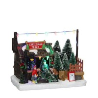 Tree shop battery operated - l18xb10,5xh14cm