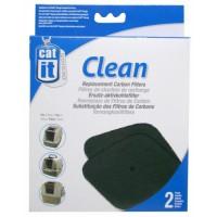 Recharge 2 filtres charbon pour maison de toilette