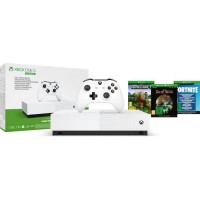 XBOX One S All Digital Refresh + 3 jeux dématérialisés : Fortnite, Sea of Thieves et Minecraft