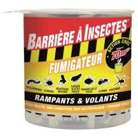BARRIERE A INSECTES Fumigene hydro réactif pour insectes volants et rampants - 10g
