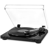 Victrola VPRO-3100 - Platine Vinile Semi-Automatique USB - Vinyle a MP3 - Noir