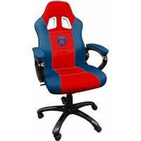 Siege e-sport Subsonic Paris Saint Germain bleu et rouge
