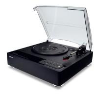 TOSHIBA TY-LP30 Platine vinyle Bluetooth avec hauts parleurs intégrés - Noir