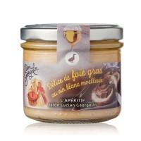 LUCIEN GEORGELIN Délice de foie gras au vin blanc moelleux - 100 g