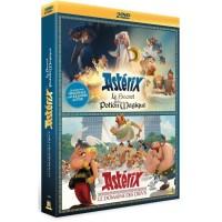 Coffret DVD Asterix : Le Secret de la Potion Magique / Le Domaine des Dieux