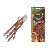 NOBBY Snack canard stick enrobé pour chien L 25cm/Ø7-8mm