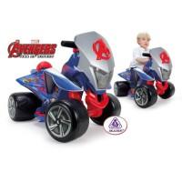 AVENGERS Quad électrique enfant Quaterback 6 volts - Marvel
