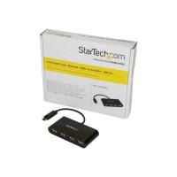 StarTech.com Hub USB-C 4 ports - Mini-hub - Concentrateur USB Type-C - USB C vers 4x USB-A - USB 2.0 (ST4200MINIC)