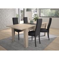 EMBRUN Table extensible - L 180/228 x P 90 x H 78 cm