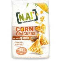 N.A! NATURE ADDICTS Crackers soufflés a base de mais et quinoa bio - Sans gluten - 50 g