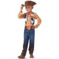 TOY STORY Déguisement classique Woody - Jaune