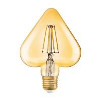 OSRAM Ampoule LED E27 coeur Vintage Edition 1906 - 4,5 W - Ambré