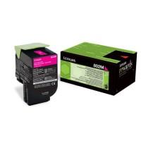 Lexmark Toner 802M - 80C20M0 - Magenta - 1?000 pages