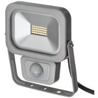 BRENNENSTUHL Projecteur slim SMD-LED H05RN-F 3G1,0 - 10 W - IP54 - PIR
