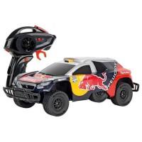 CARRERA - Voiture télécommandée Peugeot Red Bull Dakar Echelle 1/16