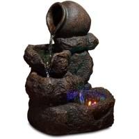 ZEN Fontaine d'intérieur nature Nivello - Marron