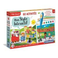 CLEMENTONI Petit Savant - Mon Stylo interactif - 60 activités - 3-6 ans