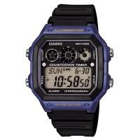 CASIO Montre Quartz Chronographe AE1300WH2AVEF Homme