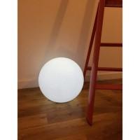 LUMISKY Sphere lumineuse E27 sur secteur 60 cm - Blanc