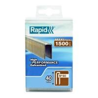 RAPID 1500 agrafes 90/40mm galvanisées