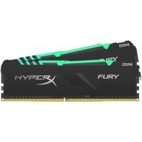 HYPERX - Mémoire PC RAM - FURY DDR4 RGB - 16 Go (2X8 Go) - 2666MHz - CAS 16 (HX426C16FB3AK2/16)