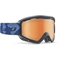 JULBO Masque de Ski Mars - Bleu/Orange Cat 3
