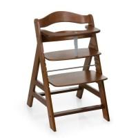 HAUCK Chaise Haute en Bois pour bébé Évolutive Alpha + / Walnut