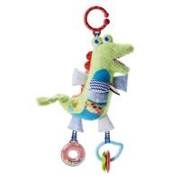 FISHER-PRICE - Mon Crocodile d'Activités - Jouet d'Éveil - Des la naissance
