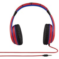 SPIDERMAN casque audio enfant Kidsafe Premium - Arceau réglable pour enfant