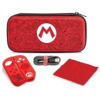 PDP Housse De Protection Starter Kit Mario Édition Pour Nintendo Switch