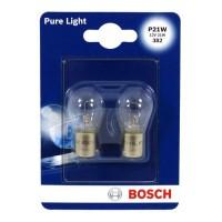 BOSCH Ampoule Pure Light 2 P21W 12V 21W