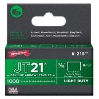 ARROW Boîte de 1000 agrafes JT21 - 8 mm