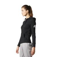 ADIDAS Sweatshirt Essentials Solid - Femme - Noir