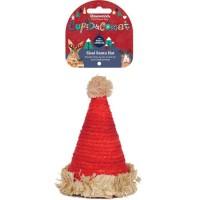 ROSEWOOD Friandise chapeau Noël en sisal - Pour rongeur