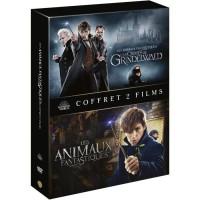 Coffret DVD Animaux Fantastiques : Les Animaux Fantastiques/Les Crimes De Grindelwald