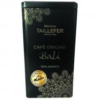 MAISON TAILLEFER Café Origine Bali 250g Boite Métal