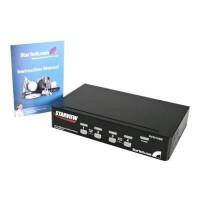 StarTech.com Commutateur KVM 4 ports VGA USB a montage en rack - Switch KVM - 1920 x 1440 (SV431USB)