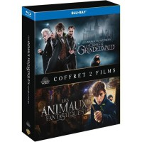 Coffret Blu-Ray Animaux Fantastiques : Les Animaux Fantastiques/Les Crimes De Grindelwald