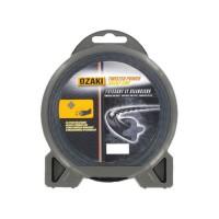 JARDIN PRATIC Fil nylon hélicoidal premium line OZAKI pour tondeuse - Ø 3,3 mm
