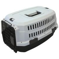 M-PETS Caisse de transport Viaggio Carrier XS - 48,3x32x25,4cm - Noir et gris - Pour chien et chat