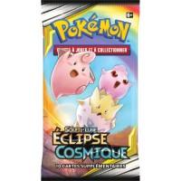 POKEMON Soleil et Lune 12 - Booster Eclipse cosmique SL12 - 10 cartes Pokémon - Modele aléatoire