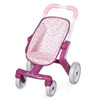SMOBY Baby Nurse Poussette Pop - Roues Multidirectionnelles