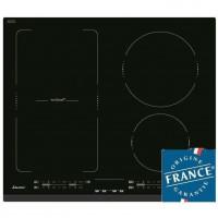 SAUTER SPI4664B Table de Cuisson Induction - 4 foyers - 7200W - L60 x P51cm - Revetement verre - Noir