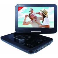"""TAKARA DIV211 Lecteur DVD Portable - Ecran 10"""" (25.2 cm) Rotatif - Port USB - Lecteur de carte mémoire - Haut Parleurs intégré"""