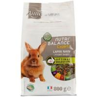 AIME Nutri'balance Expert Mélange de granules - Pour lapin nain - 800g
