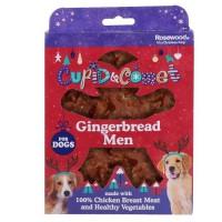 ROSEWOOD Boîte de Noël cadeau avec friandises Homme Ginger - Pour chien - 160 g