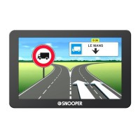 """SNOOPER GPS Poids Lourds Truckmate 6600 Ecran 7"""" Mise a Jour a Vie"""