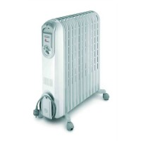DELONGHI Vento 2500 watts Radiateur bain d'huile - Puissance progressive - Effet Venturi